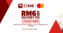 Lazada x CIMB Mastercard: RM6 off Delivery Fee with minimum spend of RM 50