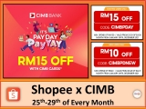 Shopee Voucher Codes: CIMB PayDay Deal (September, 2021)