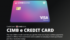 CIMB e Credit Card: Get one today