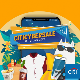 Citi CyberSale: 12-21 June 2020