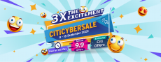 Citi CyberSale: 9-18 September 2020