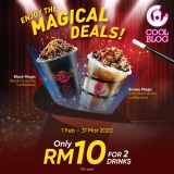 Touch 'n Go eWallet: Coolblog 2 Drinks for RM10 Only