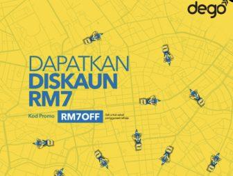 Dego Promo Code: RM7OFF