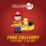 Touch 'n Go  eWallet x DeliverEat Promotions (January 2020)
