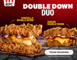 Double Down Duo kini di KFC