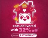 foodpanda Voucher Code: EATWITHJOY
