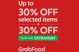 GrabFood Promo Code: EXTRAHUAT