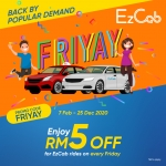 Touch 'n Go eWallet: FRIYAY is back!