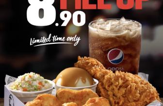 KFC Promo: FILL UP RM8.90