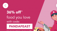 foodpanda PANDAFEAST Promotion: 36% Off