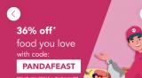 foodpanda PANDAFEAST Promotion: 36% Off