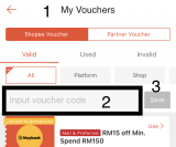How to Add Shopee Voucher/Promo Code: Only 3 Steps
