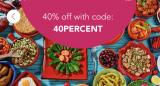 foodpanda Promo Code: 40PERCENT