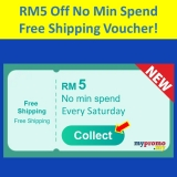 Lazada x Saturday Free Shipping Voucher with No Min Spend