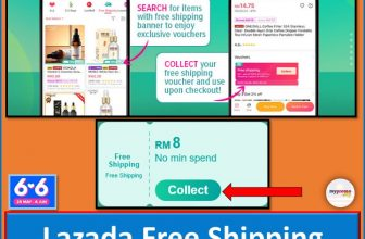 Lazada Free Shipping Voucher  with No Min Spend