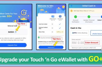 Sign up for GO+ now – Touch 'n Go eWallet