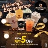 Touch N' Go eWallet: RM5 Off Drinks in KLIA/KLIA2!