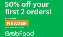 Grabfood New User Promo Code