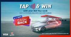 Hong Leong Bank: Stand to win Mercedes-Benz A200 when you tap at Caltex