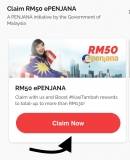 ePenjana: Claim from Boost, Step by Step