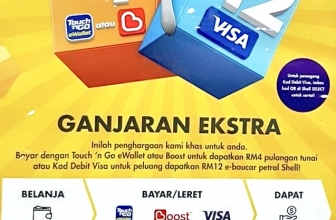 Shell Promotion: Visa or e-wallet