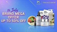 Lazada Brand Mega Offer: The Face Shop