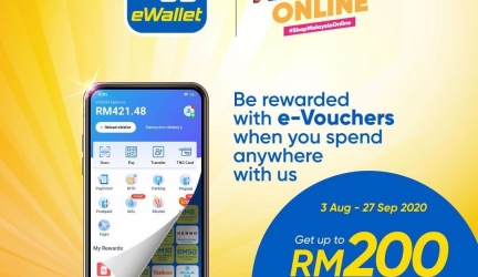 Touch 'n Go eWallet: Shop Malaysia Online