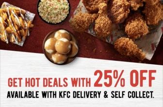 KFC  Promo Code: DEAL25