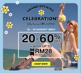 Lazada x Grand Opening Celebration: Jelly Bunny