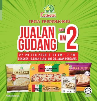 Kawan Food Warehouse Sale (27 – 29 Feb 2020)