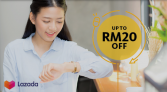 LAZADA x Maybank: Weekend Happy Hours Promotion-Sunday