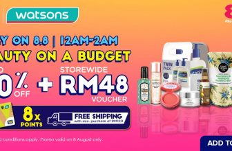 Lazada 8.8 x Watsons: Beauty On A Budget