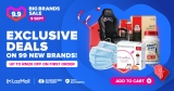 9.9 LazMall Big Brands Sale | (September 2020)