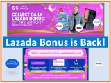Lazada Bonus for 5.5 Raya Sale