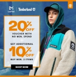 Timberland x LazMall Promotion January 2021