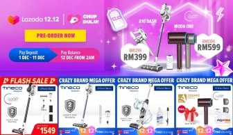 Lazada 12.12 Special Offer: Tineco