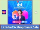 Lazada Ada 6.6 Shopmania Sale