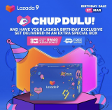 Lazada 9th Birthday Chup Dulu Pre-Sale