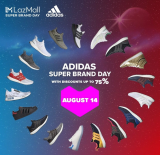 LazMall Super Brand Day: Adidas