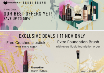 Bobbi Brown x Lazada 11.11 Special – SAVE UP TO 50%