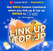 Lazada 12.12 x Maybank – Get RM12
