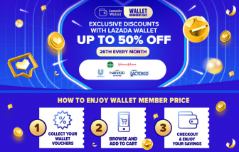 Lazada Wallet Members Day: Every 26th of the Month