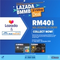 Lazada x Bank Muamalat Friday Promotion (Every Friday)