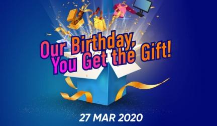 TnGo eWallet Promotion: LAZADA 8th Birthday Sales Promotion