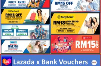 Lazada x Bank Promotions List for 2021