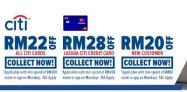 Lazada x Citibank Card Voucher Up To RM28 Off on Every Monday