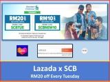 Standard Chartered Bank x Lazada: Treasure-filled Tuesdays