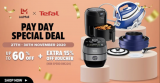LazMall x Tefal: Pay Day Special Deal