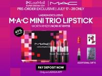 LazMall x MAC: Super Brand Day