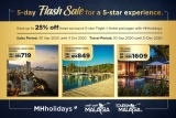 MAS: 5-day Flash Sale for a 5-star experience